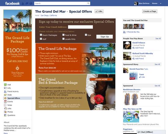 TGDM Facebook Specials